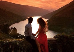 Celebração Romântica no Douro